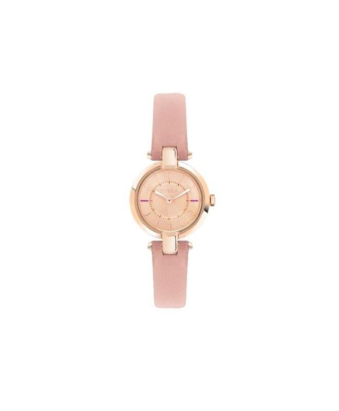 Furla Linda 24mm 2h rose dial rose strap R4251106501 - galleria 1