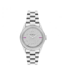 Furla Eva 35mm 3h diamond dust dial ss br