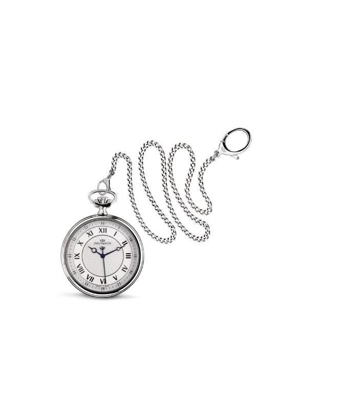 Philip Watch Tasca 48mm 3h white and silver uomo R8259183001 - galleria 1