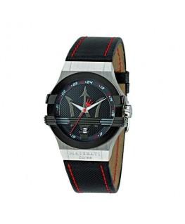 Maserati Potenza 3h black dial black strap