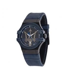 Maserati Potenza 3h gun case gun dial/blue strap