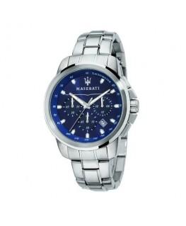 Maserati Successo 44mm chrono blue d br ss c