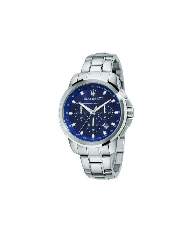 Maserati Successo 44mm chrono blue d br ss c - galleria 1