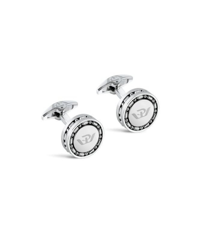 Philip Watch Philip watch j cufflinks ss w/logo on to uomo - galleria 1