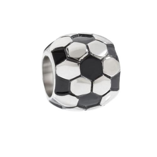 Sector Gioielli Ace football black enamel