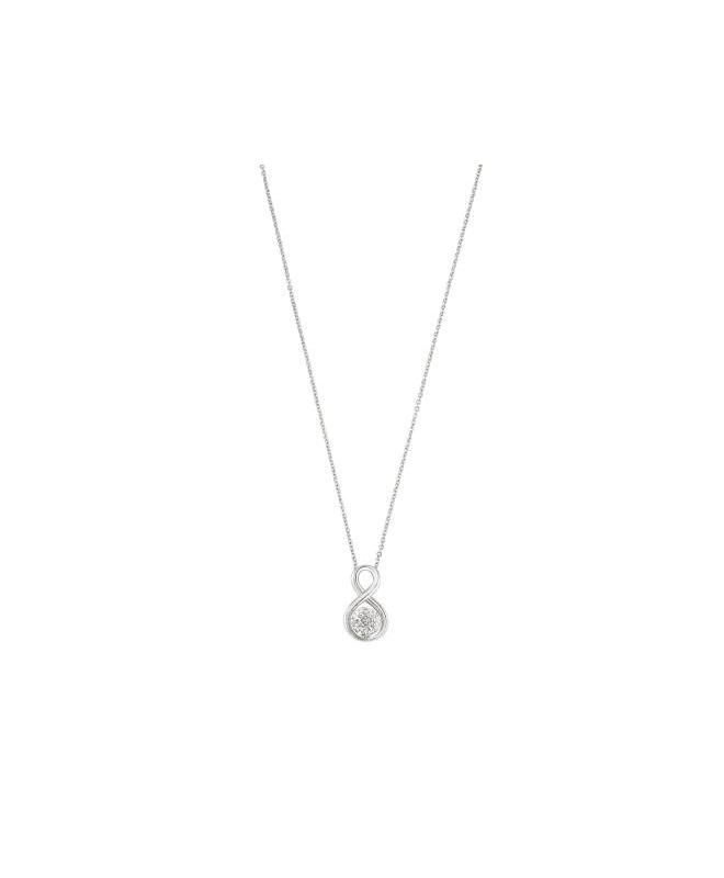 Morellato Luminosa pend. crystals boule 450mm ss donna SAET03 - galleria 1