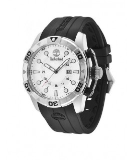 Timberland Arlington 3 hands date black silicon st