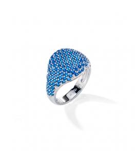 Morellato Tesori arg an. blue zir arg.925 size 16