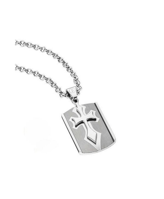 Police Spirit necklace ss+ip gun 500+200mm - galleria 1