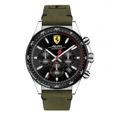 Orologio Ferrari uomo cronografo Pilota uomo FER0830433