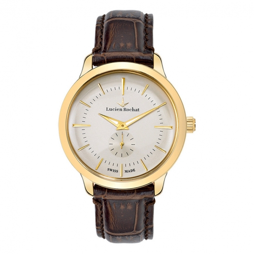 Lucien Rochat Granville 42mm small second ivor di br s