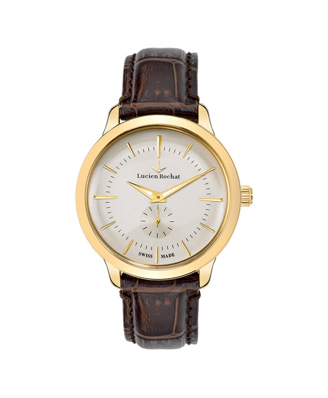 Lucien Rochat Granville 42mm small second ivor di br s - galleria 1