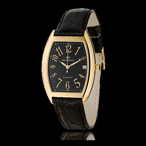 Philip Watch C panama 3h.aut.g.black d.bla.s. uomo R8021850011