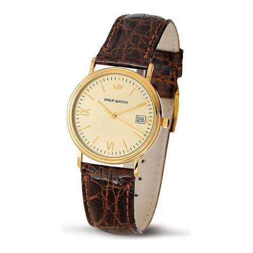 Philip Watch C velvet 3h.g.champ d.d.brown s. uomo R8051180025