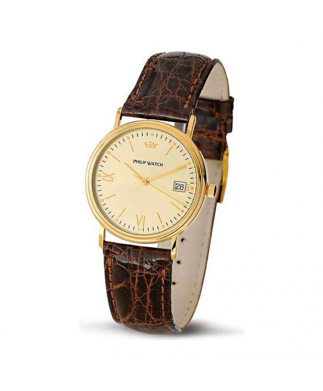 Philip Watch C velvet 3h.g.champ d.d.brown s. uomo R8051180025 - galleria 1