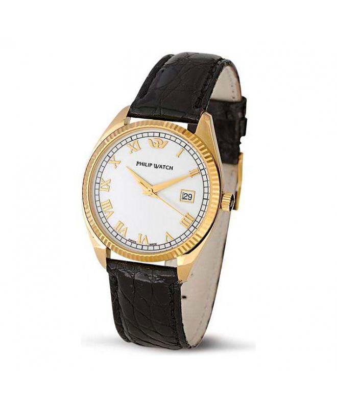 Philip Watch Thumbel 3h.g.white d.black s.p uomo R8051300021 - galleria 1