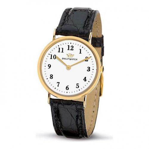 Philip Watch C capsulette 2h 30mm gold d/black s donna