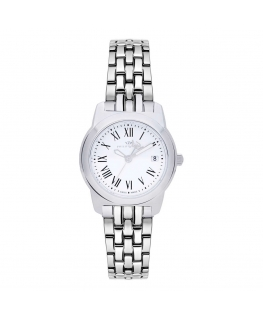 Philip Watch Timeless lady 28mm 3h white dial ss br