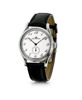 Philip Watch Sunray 150 auto man. white dial/strap