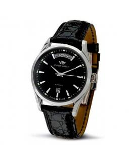 Philip Watch Sunray 3h auto black dial/black st