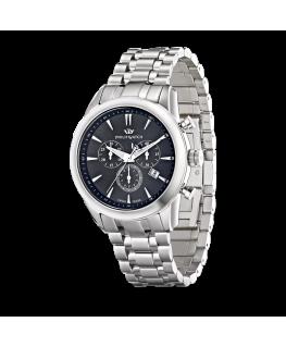Philip Watch Seahorse chr dark grey dial/bracelet