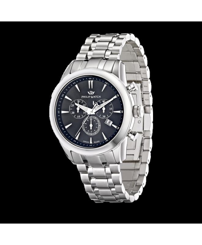 Orologio Philip Watch Seahorse chrono - 44 mm R8273996002 - galleria 1