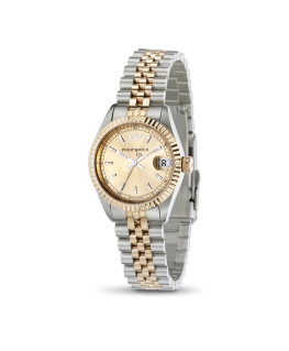 Philip Watch Caribe lady 3h rose gold dial brac