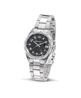 Philip Watch Caribe lady 3h black dial/brac