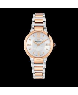Orologio Philip Watch Corley 34mm bicolore acciaio / oro rosa