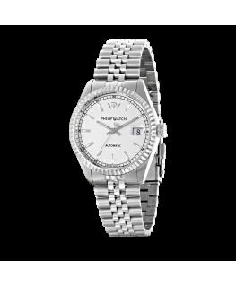Philip Watch Caribe auto white silver bracelet