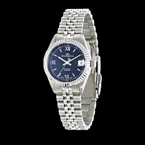 Philip Watch Caribe 3h dark blue dial /bracelet donna