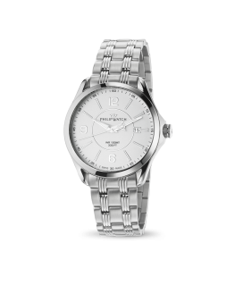 Philip Watch Blaze 3h white matt dial/bracelet