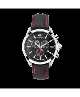 Philip Watch Blaze 41mm chr 6h black dial black strap