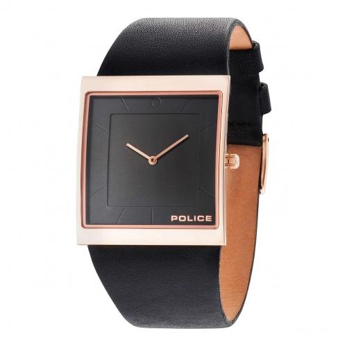 Police Skyline x 2h black dial black strap