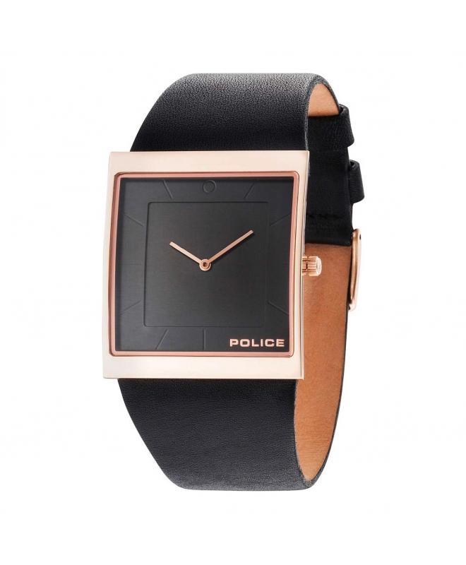 Police Skyline x 2h black dial black strap - galleria 1