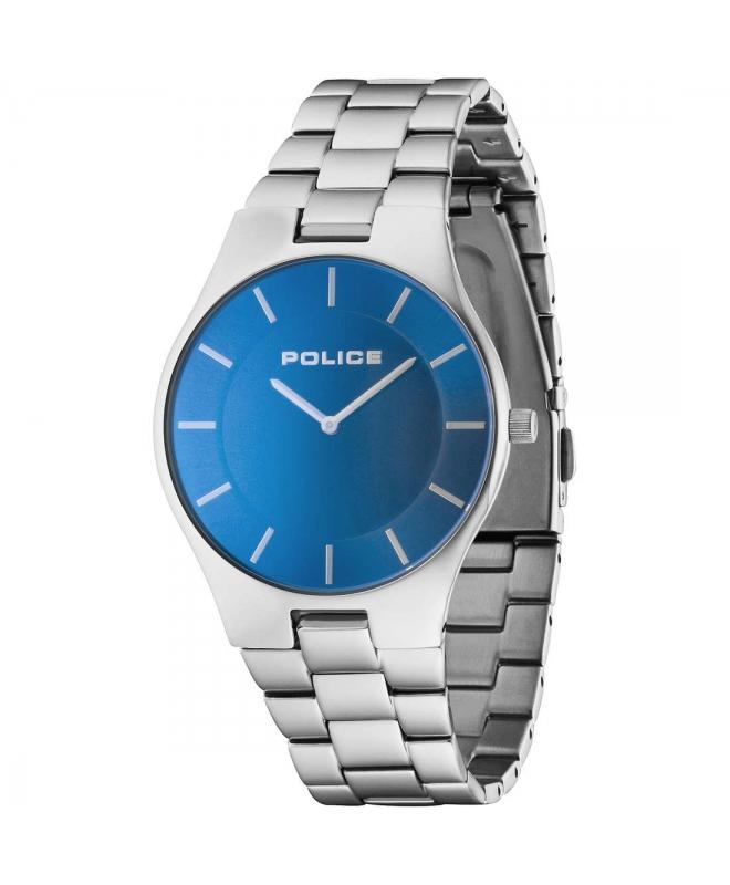 Police Splendor 2h blue dial ss brac - galleria 1