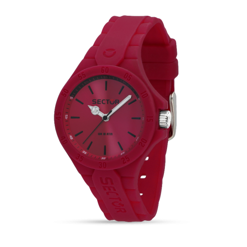 Sector Steeltouch 34mm 3h pink dial/sili st donna R3251576510