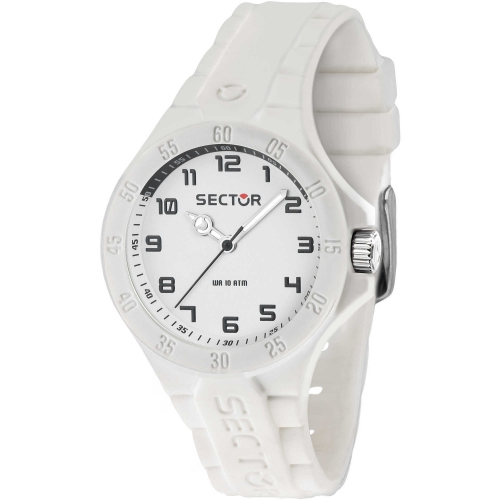 Orologio Sector Steeltouch donna gomma bianco donna R3251576512