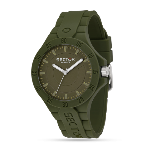 Sector Steeltouch 41mm verde tempo