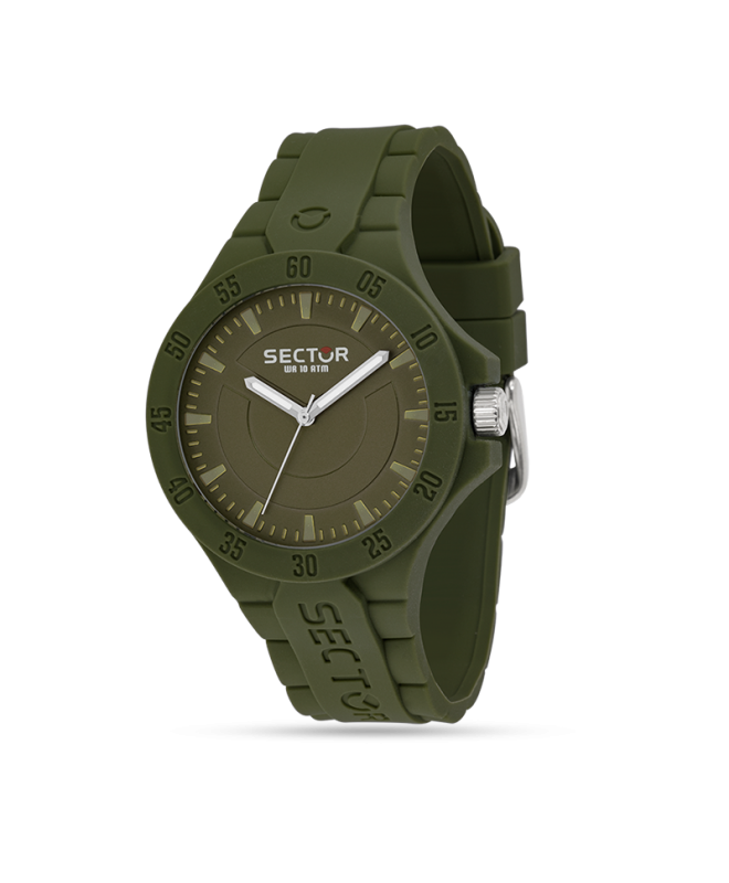 Sector Steeltouch 41mm verde tempo - galleria 1