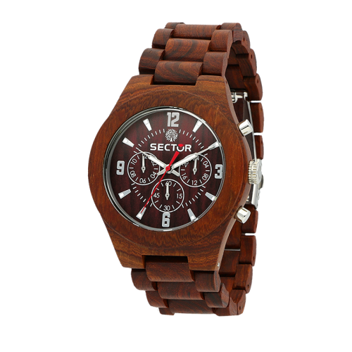 Sector Sector no limits nature mu 46mm red s br