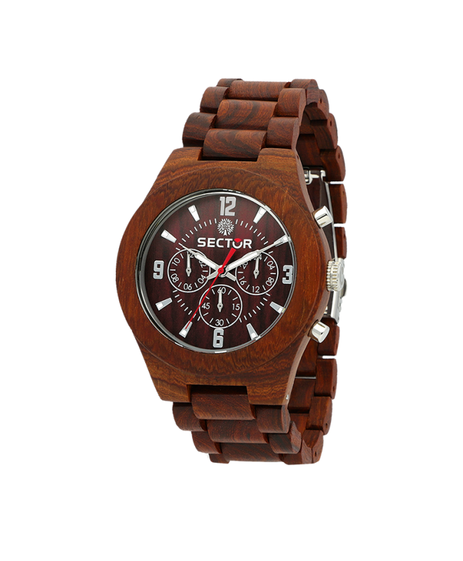 Sector Sector no limits nature mu 46mm red s br - galleria 1