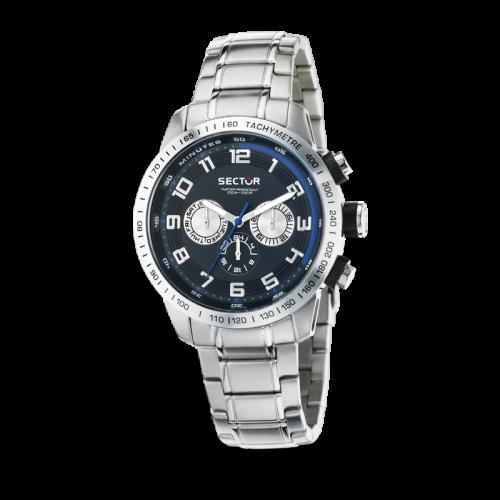 Sector 850 multi black dial bracelet uomo R3253575002