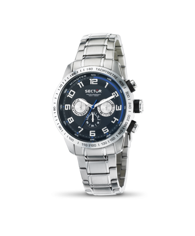 Sector 850 multi black dial bracelet uomo R3253575002 - galleria 1