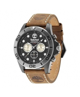Timberland Northfield chronograph brown leather st
