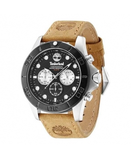 Timberland Northfield chronograph tan leather stra