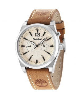 Timberland Brant multi beige dial l.brown str