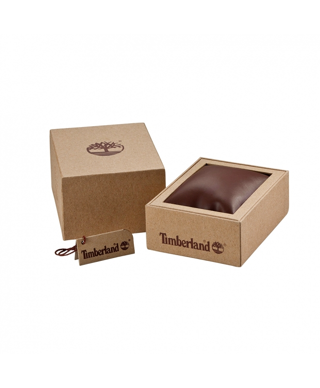 Timberland Westmore 3h black dial orange silicon st - galleria 2
