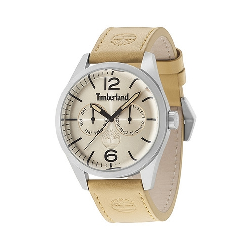 Timberland Middleton multi beige dial brown strap