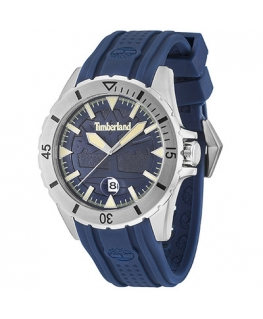 Timberland Boylston 3h d.blue dial blue silicon st